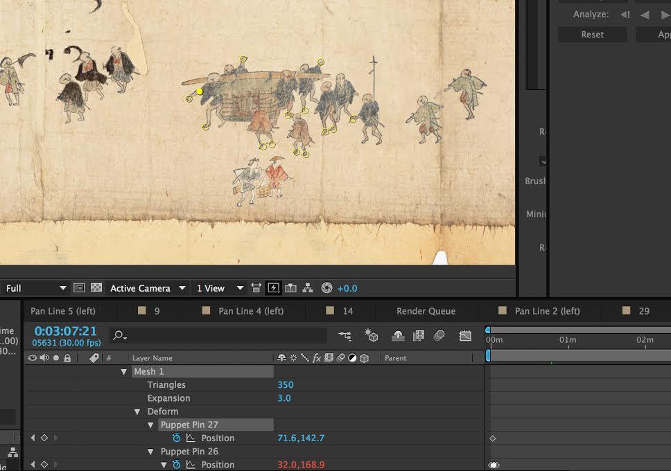 Making of Hiroshige's Trail