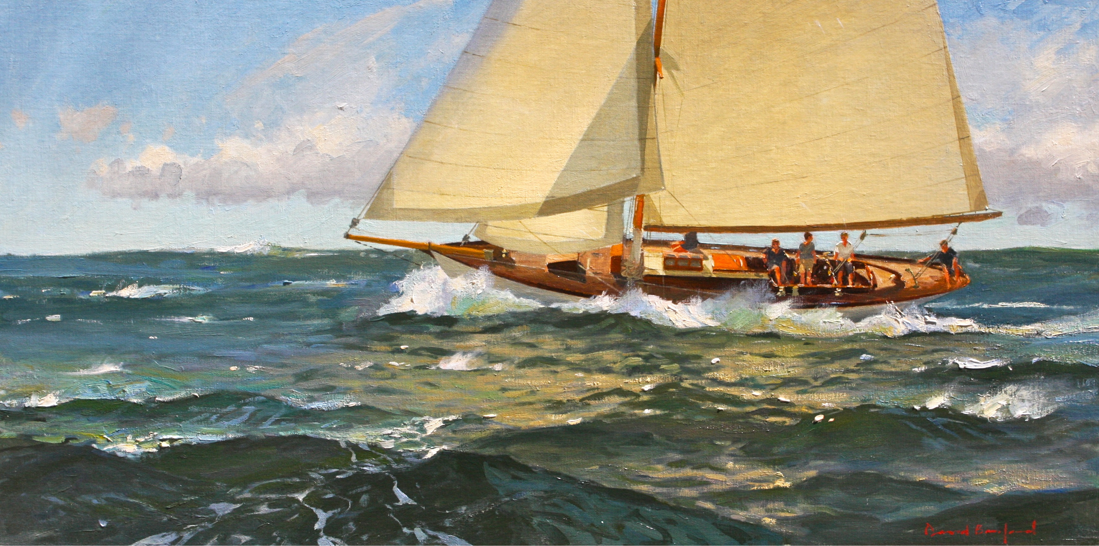 contemporary american marine art 17th national exhibition of the
