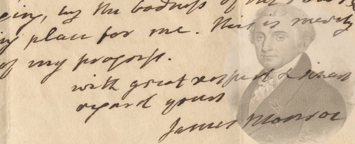 Written in Confidence: The Unpublished Letters of James Monroe