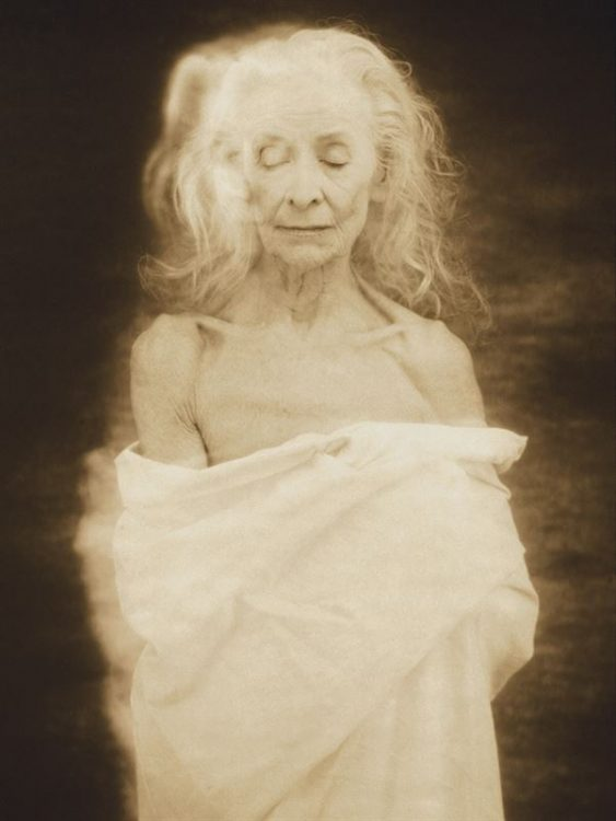 JOYCE TENNESON | American, born 1945 | Mimi Waddell, 85 from the Wise Women series, 2000 | Archival pigment print | © Joyce Tenneson | Gift of Sumit Agarwal and Madhushree Goenka (MBA, Class of 2005) | 2016.266
